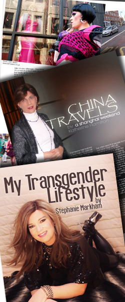 Frock Transgender Magazine for crossdressers and tranvestites, transsexuals and t-girls everywhere.