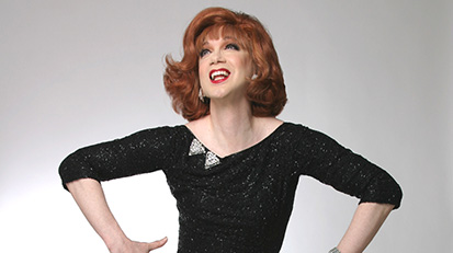 Frock Drag – Katie Meets Charles Busch