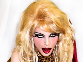 Frock Chick,Julia Panther,transgender,drag,magazine