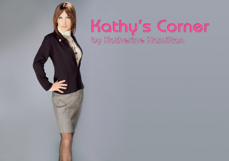Kathy's Corner – Education Is The First Step
